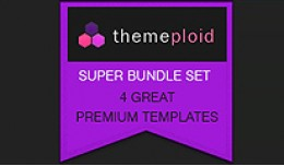 4 Responsive (Super Bundle) Premium Themes 1.5.4..