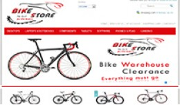 Bike Store Responsive New OpenCart 1.5.X and 1.5..