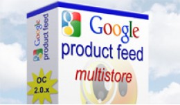 Google Product Feed for Opencart 2.0 - Multistor..