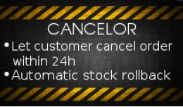 Cancelor: Allow customer to cancel order conditi..