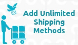 ✔ Powership: Add Unlimited New Shipping Methods