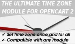 TimeZone Setting for Opencart (Bonus:Set orders ..