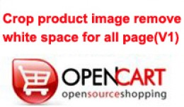 Crop product image remove white for all page