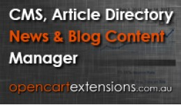 Blog CMS Article Directory News & Content Ma..