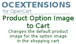 Product Option Image to Cart