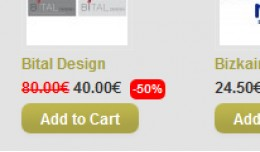 Display Discount Percentage