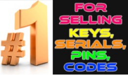 Serials & Keys, Pins & Codes Sale Extens..