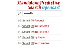 Standalone Opencart Search