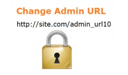 Secure/Change Admin Panel URL