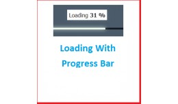 Page Loader with Progress bar