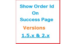 Display Order ID on success page