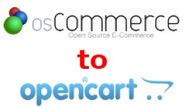 OSCommerce To Opencart