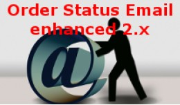 Order Status E-Mail enhanced 2.x and 3.x