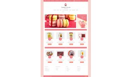Sweets House - Responsive Theme