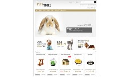 Pets Store Opencart
