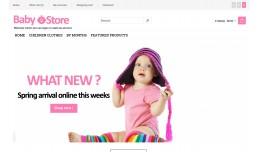 Baby Store Premium Responsive