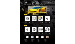 Car (auto parts) OpenCart template