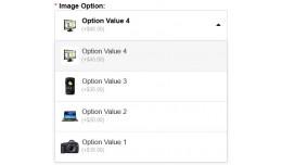 Product Image Option DropDown