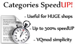 Categories SpeedUP !