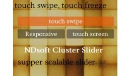 NDsoft Cluster Slider
