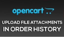 Upload file Attachments in Order History [OCMOD]