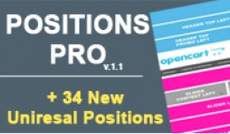POSITIONS PRO + 34 New Extra Positions