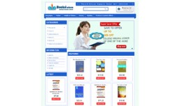 book store Blue theme