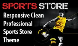 Premium Responsive Clean and Elegant Sports Stor..