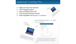 Tooltip OpenCart  Pro