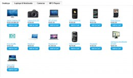 A Module Tab Slider Featured Products in selecte..