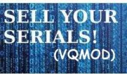 SELL YOUR SERIALS! Keys, Pins & Codes (VQMOD)
