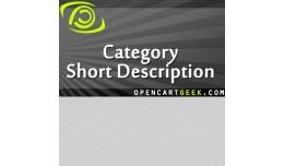 Category Short Description+Image,Redesigned refi..