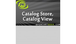 Catalog Store, Catalog View, No Cart, View Only