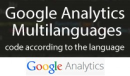 Google Analytics Multilanguages