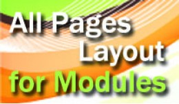 All Pages Layout for Modules