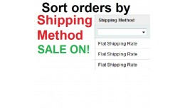Sort orders by Shipping Method