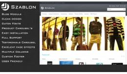 Szablon - Premium OpenCart Theme