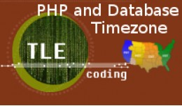PHP and Database Timezone