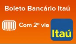 Boleto Bancário Banco Itaú com 2ª Via