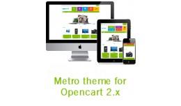 Responsive Metro theme