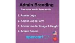 Admin Branding Module - VQMod