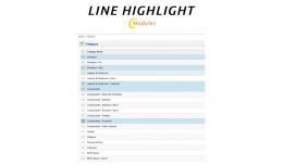 [VQMod] Admin Line Highlight (table, list row hi..