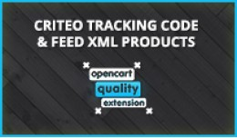 Criteo - Autogenerate Tracking codes & feed ..