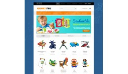 Kids Multistore Responisve Opencart Theme