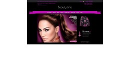 Beauty line responsive theme