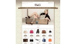 Bags shop responsive theme