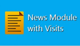 News Opencart Module with Visits