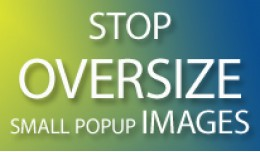 Stop oversize small popup images