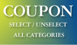 Coupon select / unselect all Cateogries