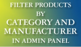 Filer Products by Category and Manufacturer in A..